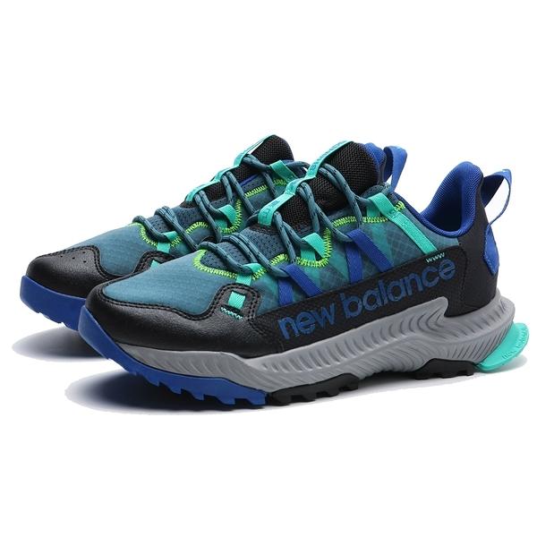 NEW BALANCE 休閒鞋 SHANDO 山道 藍綠黑 越野 登山 戶外鞋 男 (布魯克林) MTSHALB