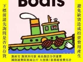 二手書博民逛書店BOats輪船罕見-Byron BartonY13398 Byron Barton 著;Byron Bart