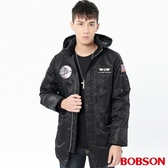 BOBSON 男款長板鋪棉外套(38037-88)