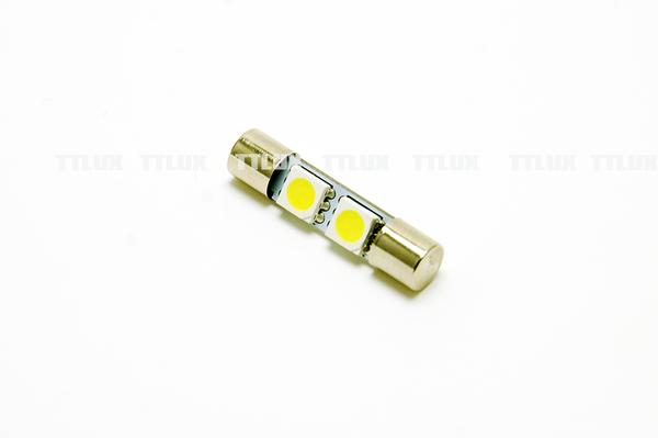 雙尖28mm LED室內燈(保險絲型 化妝鏡燈)