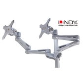 LINDY林帝 雙液晶螢幕長旋臂式支臂