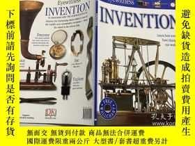二手書博民逛書店DK罕見EYEWITNESS Invention 目擊者發明 英文原版DK百科Y23200 DK DK ISB