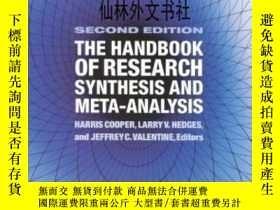 二手書博民逛書店【罕見】The Handbook Of Research Synthesis And Meta-analysis奇