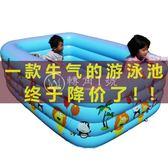 幼兒童充氣游泳池超大號泳池【轉角1號】