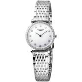 LONGINES 浪琴 嘉嵐系列限量鑽錶-鑽框 L42410806