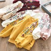 【新年鉅惠】 童裝女童衛衣2019秋裝新款韓版兒童套頭衫中小童寶寶圓領長袖上衣