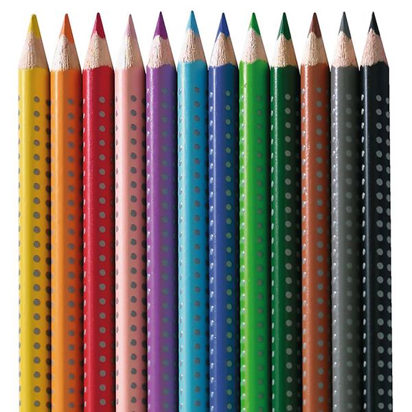 JAKO-O德國野酷-德國Faber-Castell 三角水性彩色鉛筆-12色
