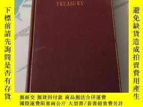 二手書博民逛書店The罕見Golden Treasury 1916年版Y2486