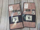 【京之物語】Y2日本男性紅白格紋純綿四角內褲-M.L