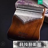 拇指琴 卡林巴板式拇指琴17音卡巴林kalimba手指鋼琴21音板琴卡靈巴琴