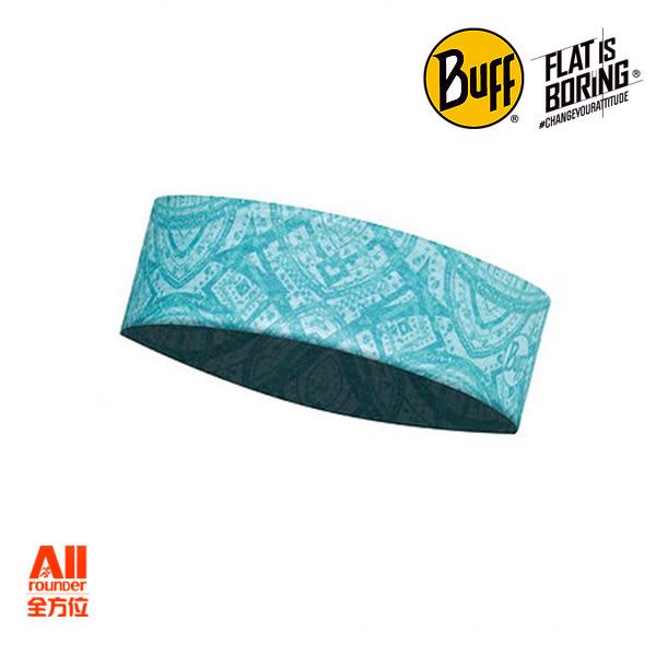 【Buff】西班牙運動魔術吸汗透氣COOL MAX PRO 抗UV頭帶- 綠松網紋(1136557891000)【全方位運動戶外館】