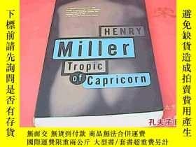 二手書博民逛書店Henry罕見Miller: Tropic of Caprico