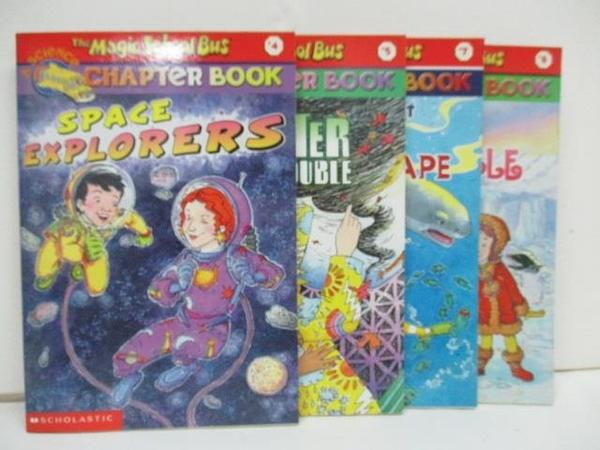 【書寶二手書T5/原文小說_A4E】The Magic School bus-A Science Chapter Book_4~8冊間_4本合售