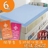 防蟎抗菌釋壓型 5cm  記憶床墊 單人 3尺 記憶床 墊MIT (三色) KOTAS