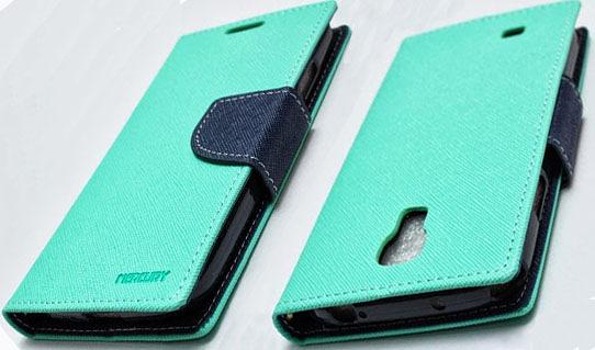 MERCURY Samsung GALAXY S4(GT-I9500) 側掀手機保護皮套 內軟殼 變色三代
