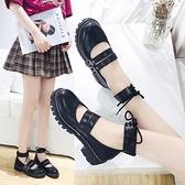 娃娃鞋 2019夏季日系洛麗塔lolita鞋軟妹鞋圓頭森女系帶英倫小皮鞋 - 風尚3C