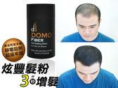 纖維假髮最新款【Domo Fiber炫豐髮粉  深棕色10g 】稀疏剋星增髮利器 歐美熱銷震撼登場