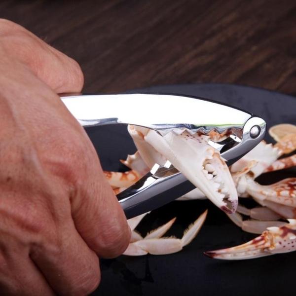 剝螃蟹吃蟹工具304不鏽鋼蟹蟹鉗蟹夾蟹針海鮮剪吃大閘蟹螃蟹