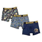 Batman 蝙蝠俠男童3件裝棉(藍色系列)