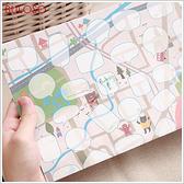 《不囉唆》夢想DIY塗鴉地圖 創意/地圖/趣味/文具/小物(不挑色/款)【A290616】