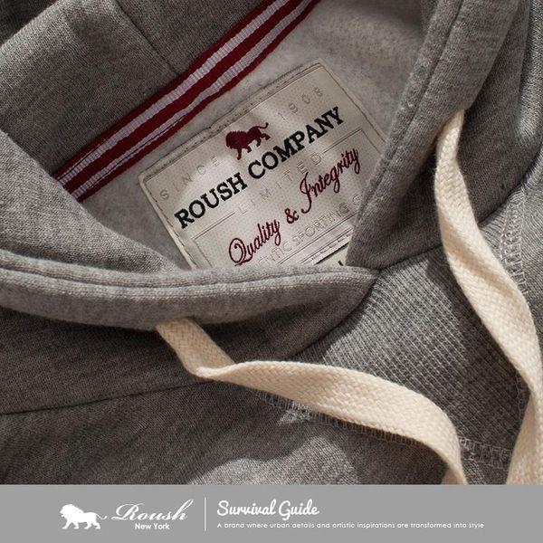 【Roush】女生ROUSH LTD美式厚棉刷毛帽TEE - 【612722】