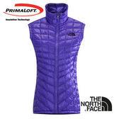 The North Face 女 PrimaLoft ® ThermoBall™ 保暖背心 星空紫 CUD6