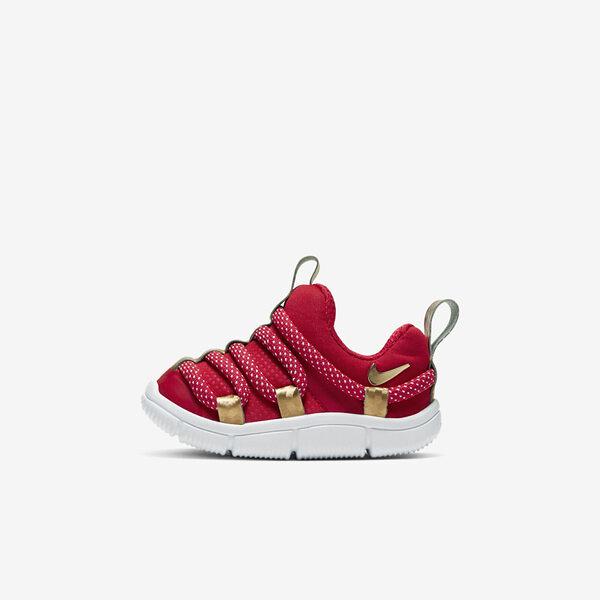 Nike Novice TD [AQ9662-603] 小童 慢跑 運動 休閒 輕量 透氣 舒適 穿搭 包覆 球鞋 紅金