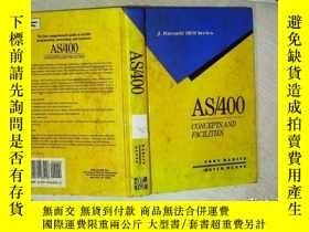 二手書博民逛書店AS 400罕見CONCEPTS AND FACILITIES AS 400概念和設施 16開 05Y2611