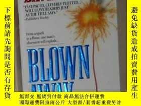 二手書博民逛書店英文原版罕見Blown Away by David Wiltse