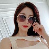 2021年新款邊框太陽鏡女士韓版夏季小臉顯瘦款防紫外線偏光潮眼鏡 一米陽光
