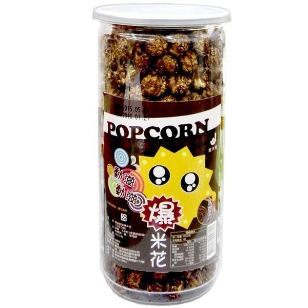 動滋動滋 爆米花-巧克力味 200g【康鄰超市】