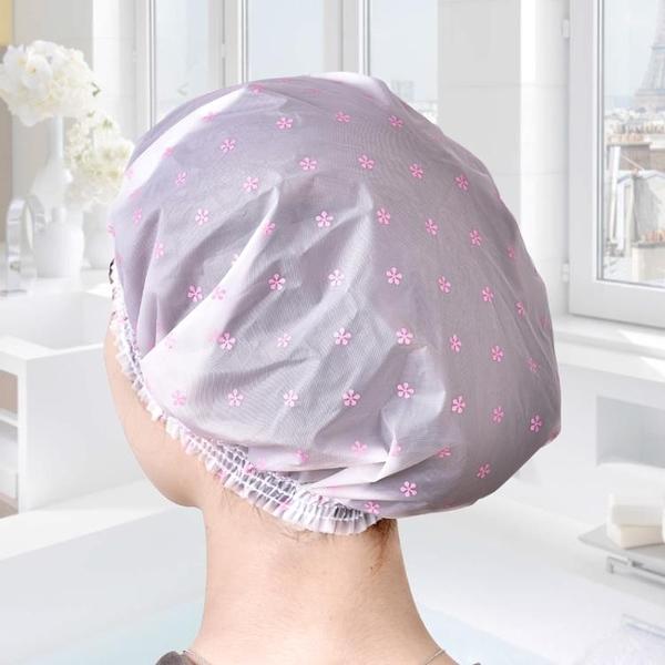 尺寸超過45公分請下宅配越南進口防水浴帽成人女款浴帽炒菜防油煙