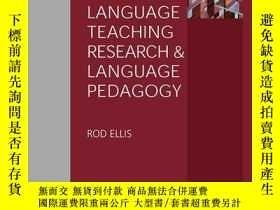 二手書博民逛書店Language罕見Teaching Research and Language PedagogyY41001