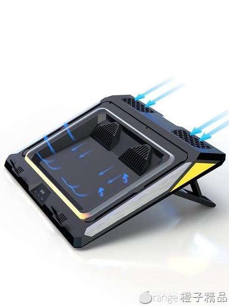 IETS游戲本筆記本散熱器神舟戰神暗影精靈外星人17寸15.6電腦底座『橙子精品』