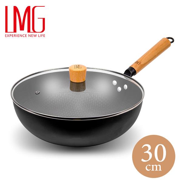 全面升級版 LMG長野不沾熟鐵鍋-30CM
