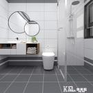 北歐地板貼地磚貼紙耐磨防水衛生間浴室防滑...