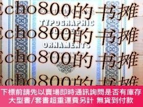 二手書博民逛書店The罕見Enschedé catalog of typographic borders and ornament