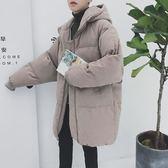 男士外套冬季棉衣男韓版潮流學生寬鬆棉服中長款面包服帥氣棉襖子『新佰數位屋』