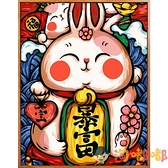 diy數字油畫中國古風人物手繪填充涂色卡通裝飾動漫畫【淘嘟嘟】
