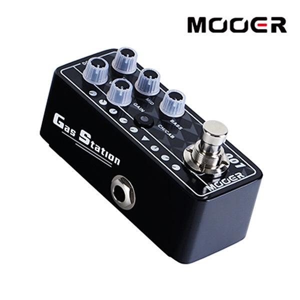 小叮噹的店- MOOER 001 Gas station 迷你音箱前級模擬效果器 (MREG-PRE-001)