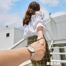 滿天星情侶手錶一對2020年新款女士男學生簡約氣質時尚防水滿鑚表 創意空間