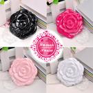 ◆隨身攜帶小物◆許多美 SB-1403玫瑰攜帶式雙面小鏡 [50240]◇美容美髮美甲新秘專業材料◇