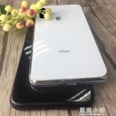 iphonex玻璃手機殼蘋果x全包防摔潮牌女款潮男新款白iphone硅膠8x 藍嵐
