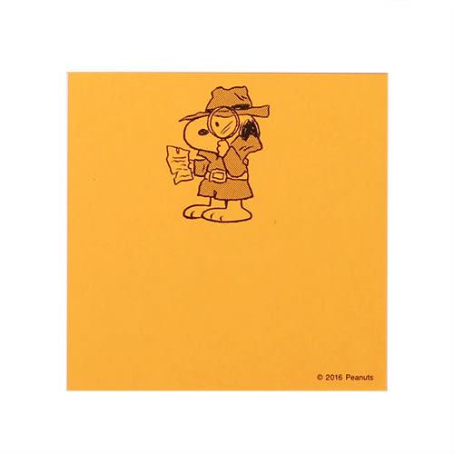 《sun-star》SNOOPY螢光角色扮演系列亮彩自黏便利貼(蒙面俠)★funbox生活用品★_OP49890