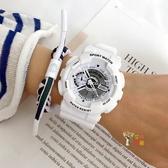 電子錶 超火電子手錶女ins風男中學生櫻花粉獨角獸運動森系簡約氣質學院 多色