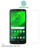 【愛瘋潮】NILLKIN Motorola Moto G6 Plus 超清防指紋保護貼 - 套裝版 (含鏡頭貼套裝版)