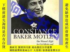 二手書博民逛書店Constance罕見Baker Motley: One Wom