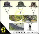ES數位 迷彩系列 戶外 多功能 可調式 攝影帽子 釣魚 漁夫帽 圓頂 攝影帽 男女皆適用