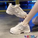 小白鞋 老爹鞋子女2021年新款秋季秋冬爆款棉鞋運動小白鞋百搭潮寶貝計畫 上新