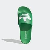 Adidas Adilette Lite Or-05 [FX5909] 男鞋 運動 休閒 簡約 拖鞋 海灘 夏天 綠 白